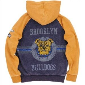 BUTTER-SUPERSOFT Boys Hoodie Brooklyn BullDogs NWT